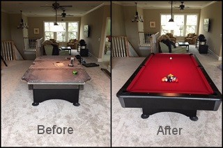 expert pool table repair in Westminster content img2