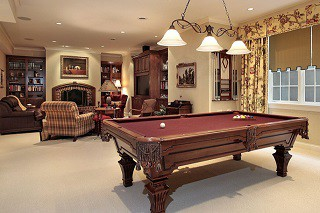 Pool table assembly with perfect leveling in Westminster content img3